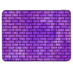 Brick1 Black Marble & Purple Watercolor Samsung Galaxy Tab 7  P1000 Flip Case by trendistuff