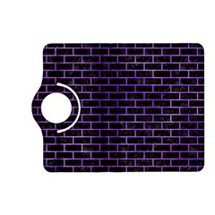 Brick1 Black Marble & Purple Watercolor (r) Kindle Fire Hd (2013) Flip 360 Case by trendistuff