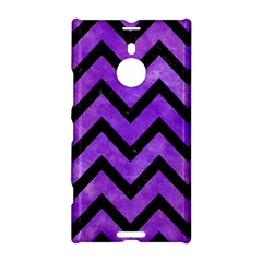 Chevron9 Black Marble & Purple Watercolor Nokia Lumia 1520 by trendistuff