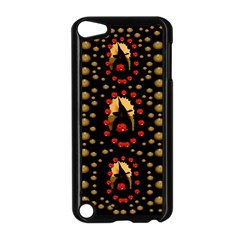 Pumkin Witch In Candles And White Magic Apple Ipod Touch 5 Case (black) by pepitasart