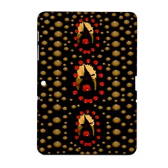 Pumkin Witch In Candles And White Magic Samsung Galaxy Tab 2 (10 1 ) P5100 Hardshell Case  by pepitasart