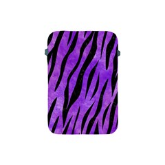 Skin3 Black Marble & Purple Watercolor Apple Ipad Mini Protective Soft Cases by trendistuff