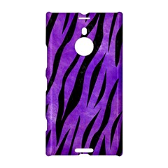 Skin3 Black Marble & Purple Watercolor Nokia Lumia 1520 by trendistuff