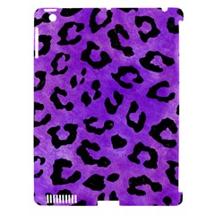 Skin5 Black Marble & Purple Watercolor (r) Apple Ipad 3/4 Hardshell Case (compatible With Smart Cover) by trendistuff