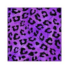 Skin5 Black Marble & Purple Watercolor (r) Acrylic Tangram Puzzle (6  X 6 ) by trendistuff