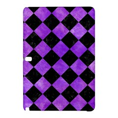 Square2 Black Marble & Purple Watercolor Samsung Galaxy Tab Pro 12 2 Hardshell Case by trendistuff