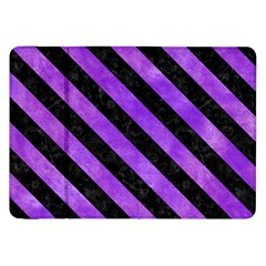 Stripes3 Black Marble & Purple Watercolor Samsung Galaxy Tab 8 9  P7300 Flip Case by trendistuff