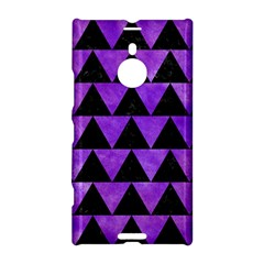 Triangle2 Black Marble & Purple Watercolor Nokia Lumia 1520 by trendistuff