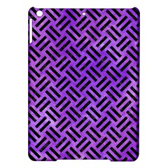 Woven2 Black Marble & Purple Watercolor Ipad Air Hardshell Cases by trendistuff
