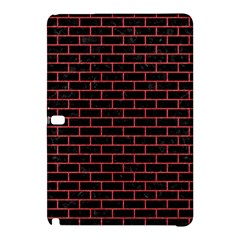 Brick1 Black Marble & Red Colored Pencil (r) Samsung Galaxy Tab Pro 12 2 Hardshell Case by trendistuff