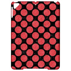 Circles2 Black Marble & Red Colored Pencil (r) Apple Ipad Pro 9 7   Hardshell Case by trendistuff