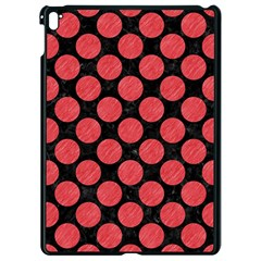 Circles2 Black Marble & Red Colored Pencil (r) Apple Ipad Pro 9 7   Black Seamless Case by trendistuff