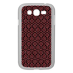 Hexagon1 Black Marble & Red Colored Pencil (r) Samsung Galaxy Grand Duos I9082 Case (white) by trendistuff