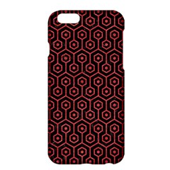 Hexagon1 Black Marble & Red Colored Pencil (r) Apple Iphone 6 Plus/6s Plus Hardshell Case by trendistuff