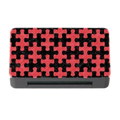 Puzzle1 Black Marble & Red Colored Pencil Memory Card Reader With Cf by trendistuff