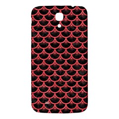 Scales3 Black Marble & Red Colored Pencil (r) Samsung Galaxy Mega I9200 Hardshell Back Case by trendistuff