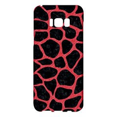Skin1 Black Marble & Red Colored Pencil Samsung Galaxy S8 Plus Hardshell Case  by trendistuff