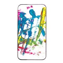 No 128 Apple Iphone 4/4s Seamless Case (black) by AdisaArtDesign