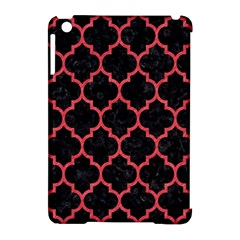 Tile1 Black Marble & Red Colored Pencil (r) Apple Ipad Mini Hardshell Case (compatible With Smart Cover) by trendistuff