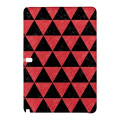 Triangle3 Black Marble & Red Colored Pencil Samsung Galaxy Tab Pro 12 2 Hardshell Case by trendistuff