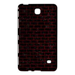 Brick1 Black Marble & Red Grunge (r) Samsung Galaxy Tab 4 (7 ) Hardshell Case  by trendistuff