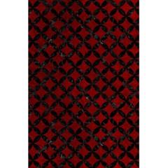 Circles3 Black Marble & Red Grunge 5 5  X 8 5  Notebooks by trendistuff