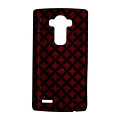 Circles3 Black Marble & Red Grunge Lg G4 Hardshell Case by trendistuff