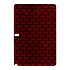 Scales3 Black Marble & Red Grunge Samsung Galaxy Tab Pro 10 1 Hardshell Case by trendistuff