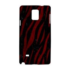 Skin3 Black Marble & Red Grunge (r) Samsung Galaxy Note 4 Hardshell Case by trendistuff