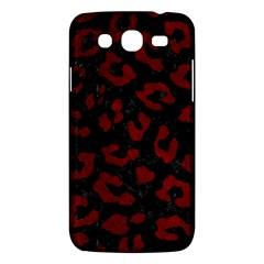 Skin5 Black Marble & Red Grunge Samsung Galaxy Mega 5 8 I9152 Hardshell Case  by trendistuff
