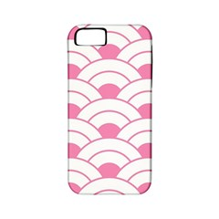 Art Deco Shell Pink White Apple Iphone 5 Classic Hardshell Case (pc+silicone) by 8fugoso