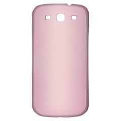 Beautiful,rose Gold,pattern Samsung Galaxy S3 S Iii Classic Hardshell Back Case by 8fugoso