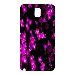 Abstract Background Purple Bright Samsung Galaxy Note 3 N9005 Hardshell Back Case by Onesevenart