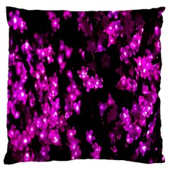 Abstract Background Purple Bright Standard Flano Cushion Case (two Sides) by Onesevenart