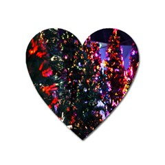 Abstract Background Celebration Heart Magnet by Onesevenart