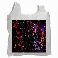 Abstract Background Celebration Recycle Bag (one Side) by Onesevenart