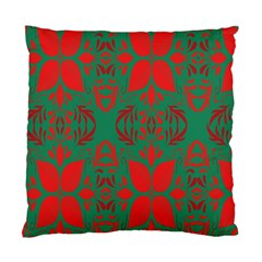 Christmas Background Standard Cushion Case (two Sides) by Onesevenart