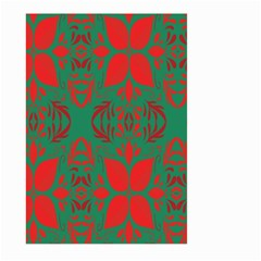 Christmas Background Large Garden Flag (two Sides) by Onesevenart