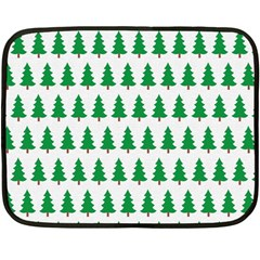 Christmas Background Christmas Tree Fleece Blanket (mini) by Onesevenart