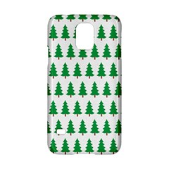Christmas Background Christmas Tree Samsung Galaxy S5 Hardshell Case  by Onesevenart