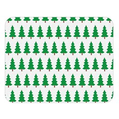 Christmas Background Christmas Tree Double Sided Flano Blanket (large)  by Onesevenart