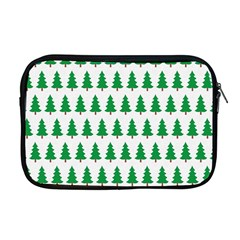 Christmas Background Christmas Tree Apple Macbook Pro 17  Zipper Case by Onesevenart