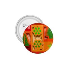 Christmas Design Seamless Pattern 1 75  Buttons by Onesevenart