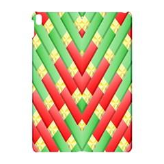 Christmas Geometric 3d Design Apple Ipad Pro 10 5   Hardshell Case by Onesevenart