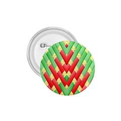 Christmas Geometric 3d Design 1 75  Buttons by Onesevenart