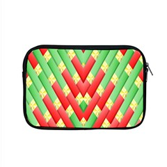 Christmas Geometric 3d Design Apple Macbook Pro 15  Zipper Case by Onesevenart