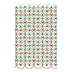 Christmas Decorations Background Shower Curtain 48  X 72  (small)  by Onesevenart