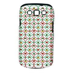 Christmas Decorations Background Samsung Galaxy S Iii Classic Hardshell Case (pc+silicone) by Onesevenart