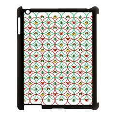 Christmas Decorations Background Apple Ipad 3/4 Case (black) by Onesevenart