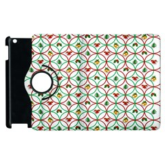 Christmas Decorations Background Apple Ipad 3/4 Flip 360 Case by Onesevenart